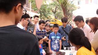 Học sinh chuyên Hoá chứng tỏ bản lĩnh đa tài qua Chemistry Final Day
