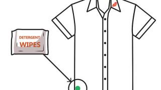 Làm sạch mỹ phẩm dính vào quần áo mà không phải giặt