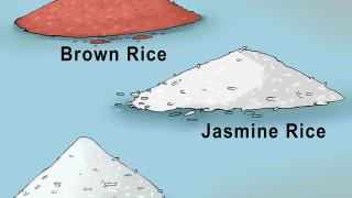 Rửa mặt bằng nước gạo