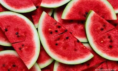 10 thực phẩm màu đỏ ngon mắt, tốt cho máu