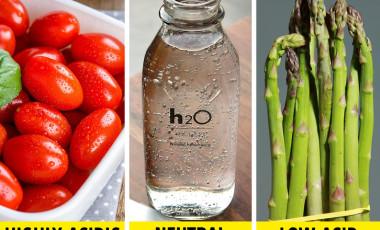 10 loại thực phẩm có tính axit không an toàn cho cơ thể bạn