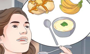 Cách ăn khi mới đeo hoặc siết niềng răng