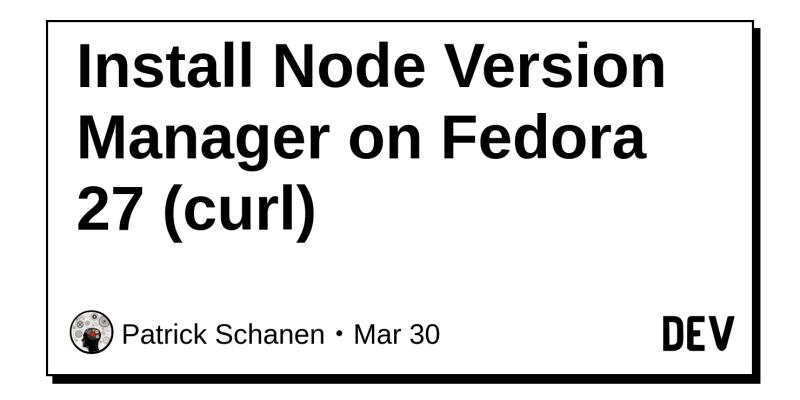 node version manager