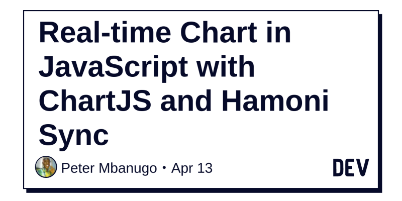 Real-time Chart in JavaScript with ChartJS and Hamoni Sync