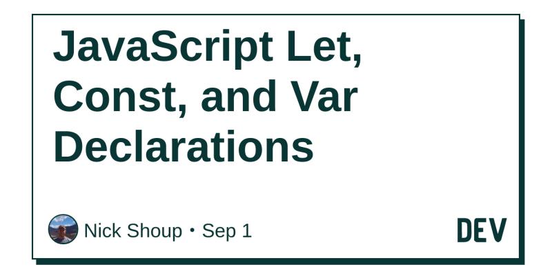 let in javascript