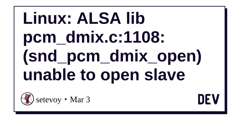 Sfml Linux