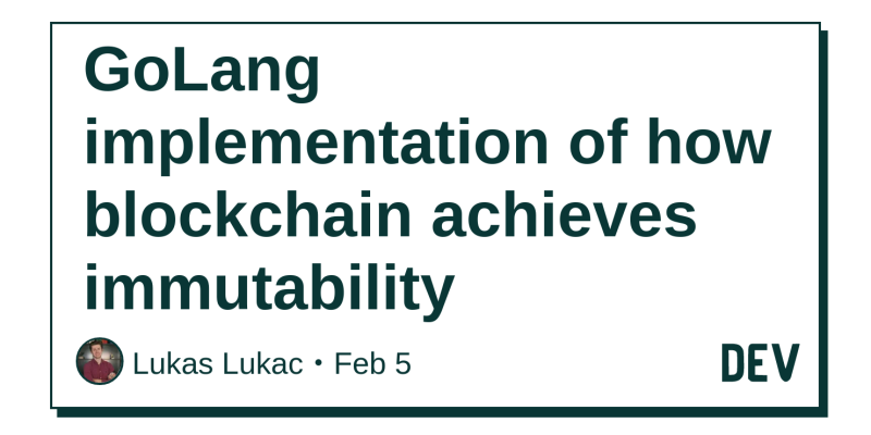 GoLang implementation of how blockchain achieves