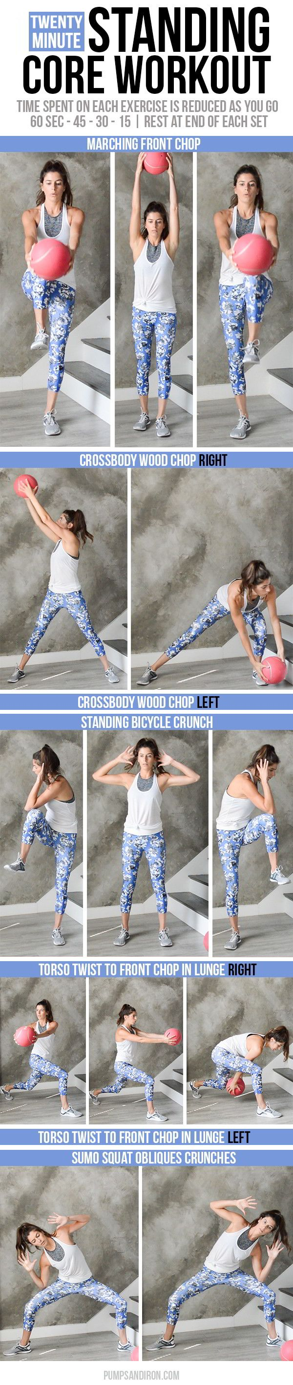 Standing Core Workout