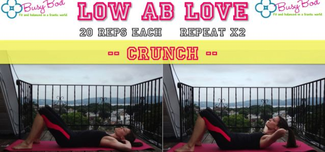 Lower Ab Love Workout