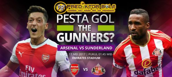 Prediksi Bola Arsenal vs Sunderland 17 Mei 2017