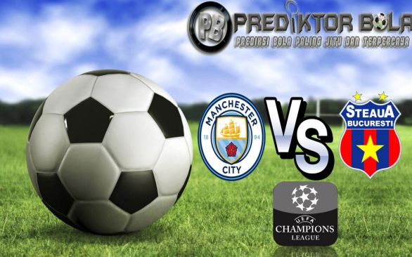 Prediksi Manchester City vs Steaua Bucuresti 25 Agustus 2016