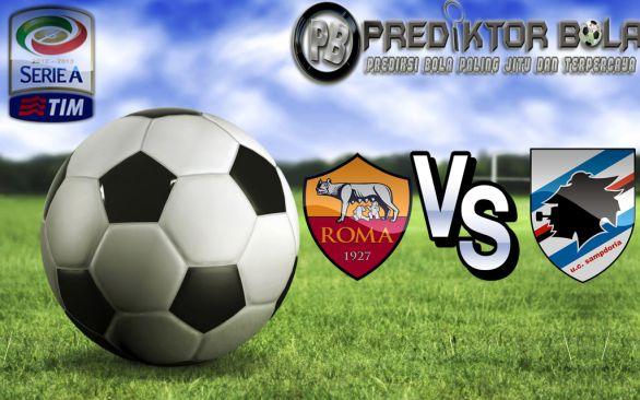 Prediksi Bola AS Roma vs Sampdoria 11 September 2016