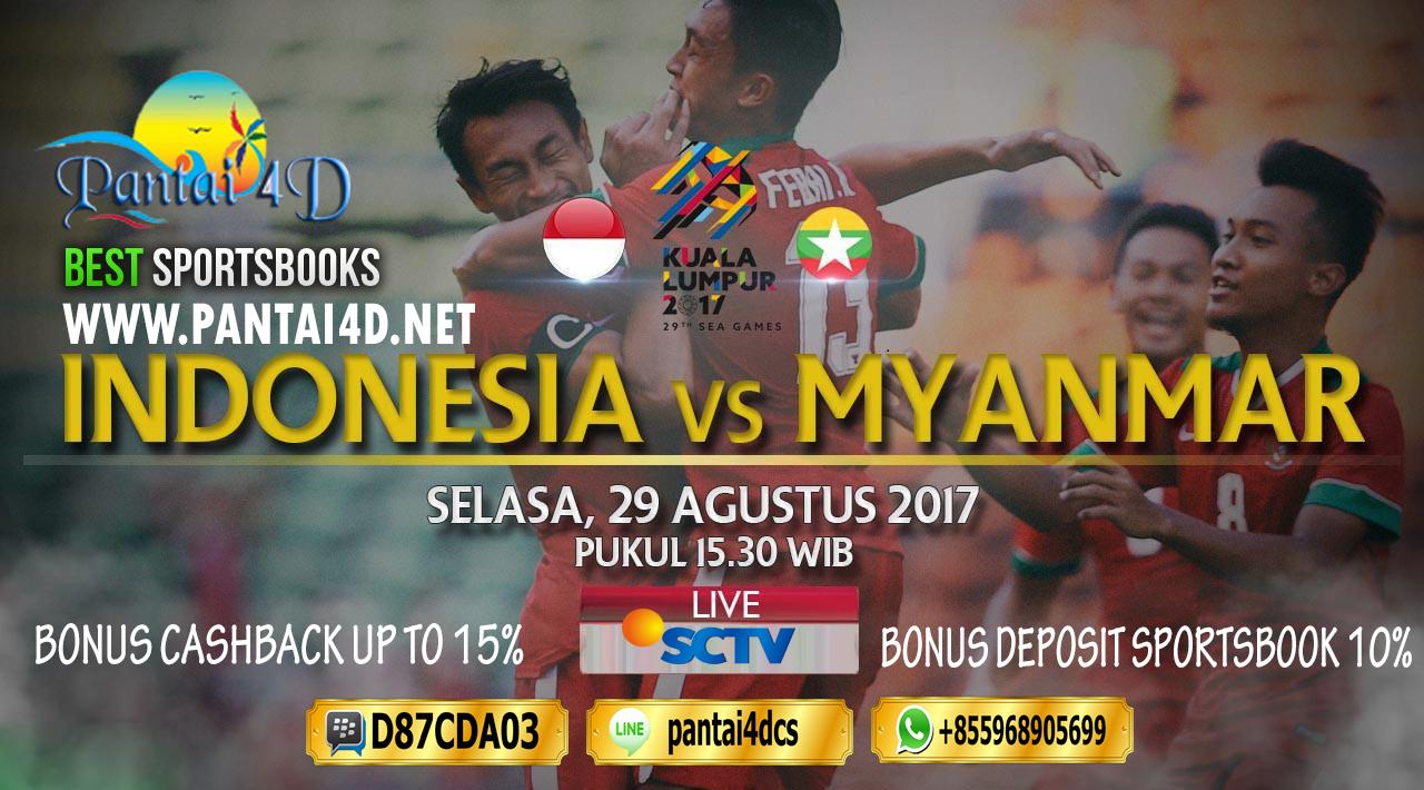 Prediksi Sea Games Indonesia vs Myanmar 29 Agustus 2017