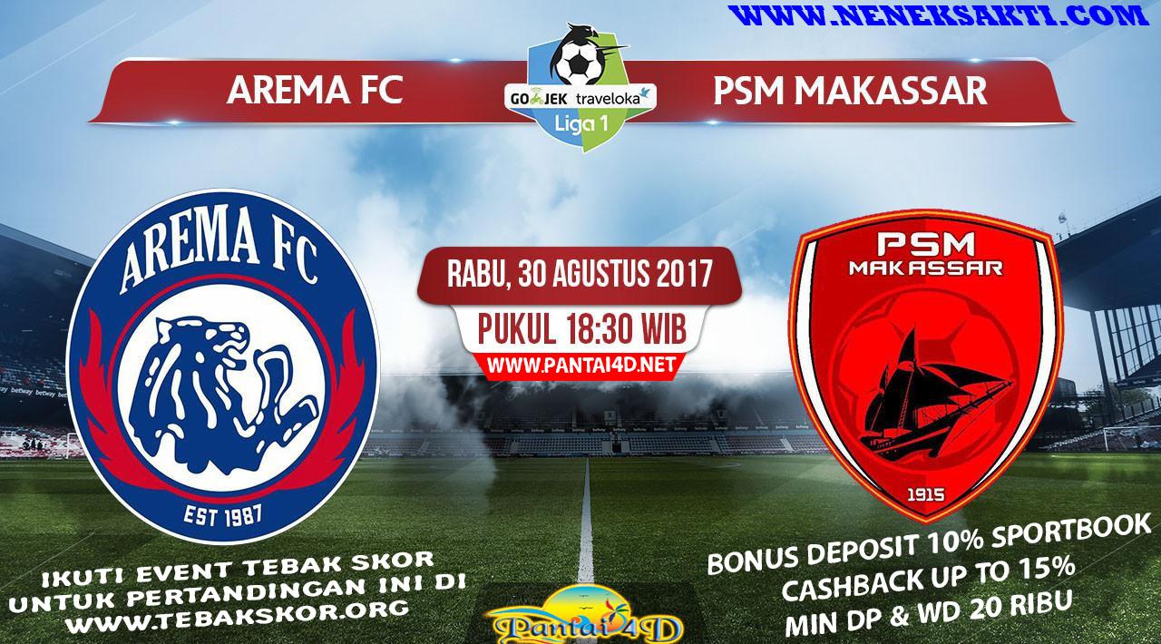 Prediksi Bola Arema FC vs PSM Makassar 30 Agustus 2017