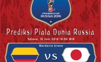 Kolombia vs Jepang Piala Dunia 2018