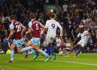 Burnley 1-2 Chelsea