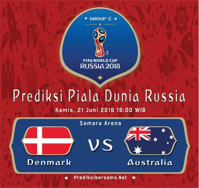 Denmark vs Australia Piala Dunia 2018