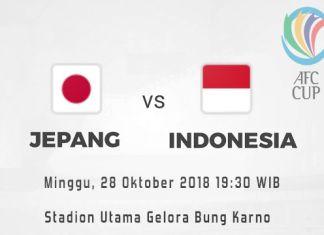 Prediksi Jepang vs Indonesia, Disiarkan Langsung di RCTI