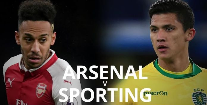 Arsenal vs Sporting Lisbon
