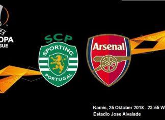Prediksi Skor Sporting vs Arsenal 25 Oktober 2018
