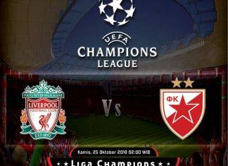 Prediksi Liverpool vs Crvena Zvezda
