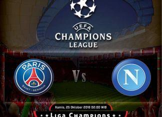 Prediksi Skor PSG vs Napoli 25 Oktober 2018