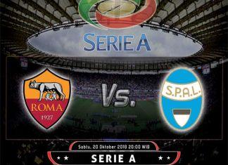 Prediksi Skor AS Roma vs SPAL Sabtu, 20 Oktober 2018
