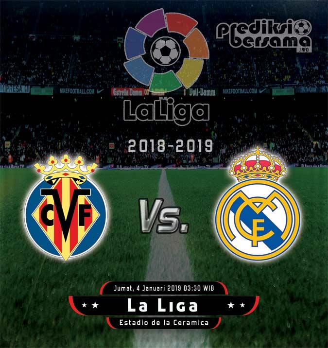Prediksi Villarreal vs Real Madrid