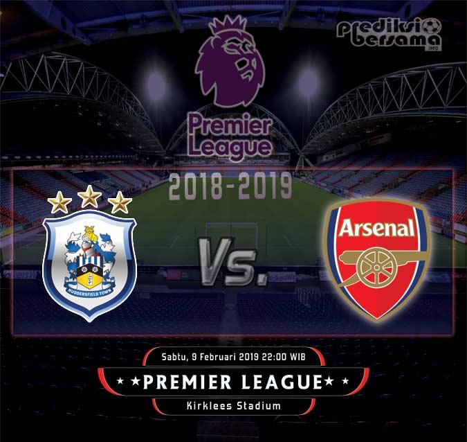 Prediksi Huddersfield Town vs Arsenal