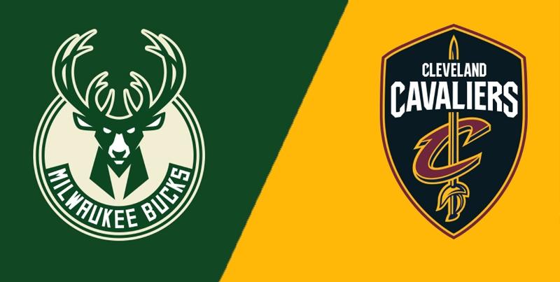 Milwaukee Bucks vs Cleveland Cavaliers