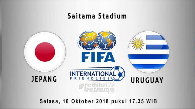 Prediksi Jepang vs Uruguay, 16 Oktober 2018
