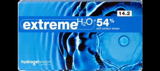 Extreme H2O 54% 14.2 Soft Contact Lenses