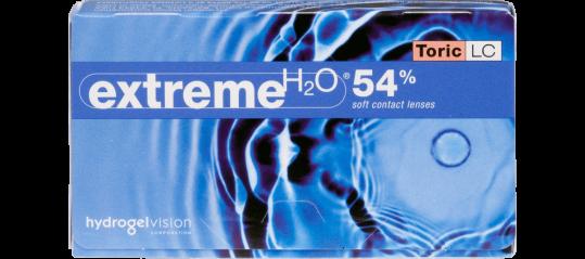 Extreme H2O 54% Toric LC 6pk