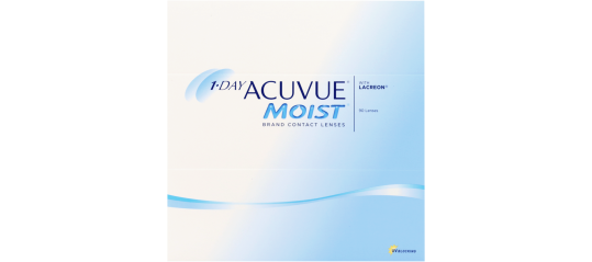 1-Day Acuvue Moist With Lacreon - 90 pack