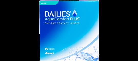 DAILIES AquaComfort Toric 90pk