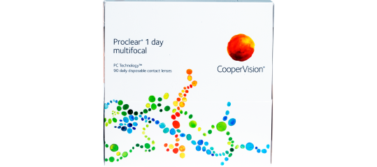 Proclear 1-Day Multifocal