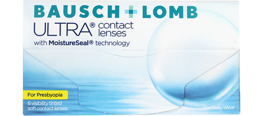 Bausch and Lomb Ultra for Presbyopia With MoistureSeal