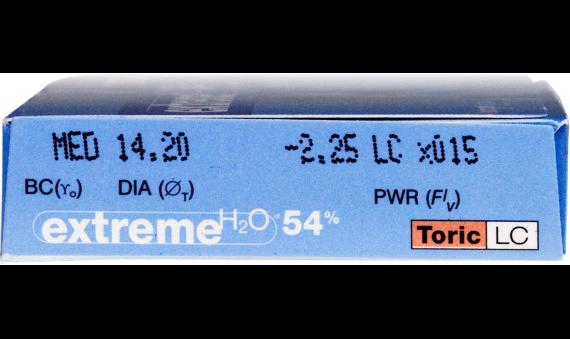 Extreme H2O 54 Percent Toric LC 6pk