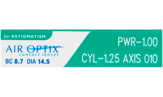 Air Optix HydraGlyde Astigmatism