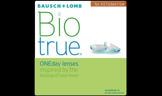 Biotrue ONEday Astigmatism