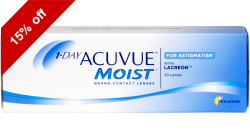1-Day Acuvue Moist Astigmatism 30 lenses per box