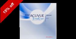 1-Day Acuvue TruEye 90 lenses per box