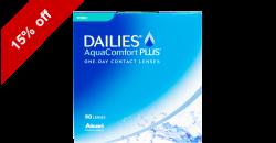 DAILIES AquaComfort Toric 90 lenses per box