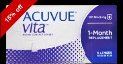 Acuvue Vita 6 lenses per box