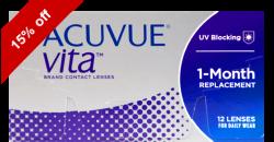 Acuvue Vita 12 lenses per box