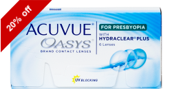 Acuvue Oasys for Presbyopia 6 lenses per box