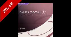 DAILIES Total1 Multifocal 90 lenses per box