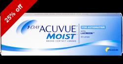 1-Day Acuvue Moist Astigmatism 30 lenses per box