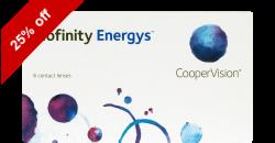 Biofinity Energys 6 lenses per box
