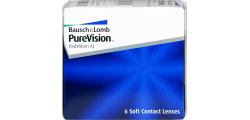 PureVision 6 lenses per box